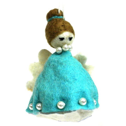 Felt Magic Fairy Ornament - Blue