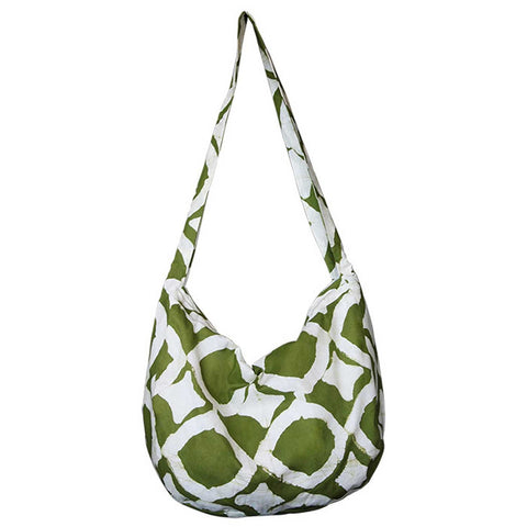 Globe Trotter Bag Fisheye Design Olive