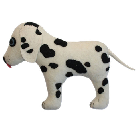 Felted Friend Dalmatian Design