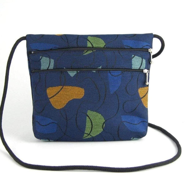 Wide 2 Zipper Fabric Travel Bag T9