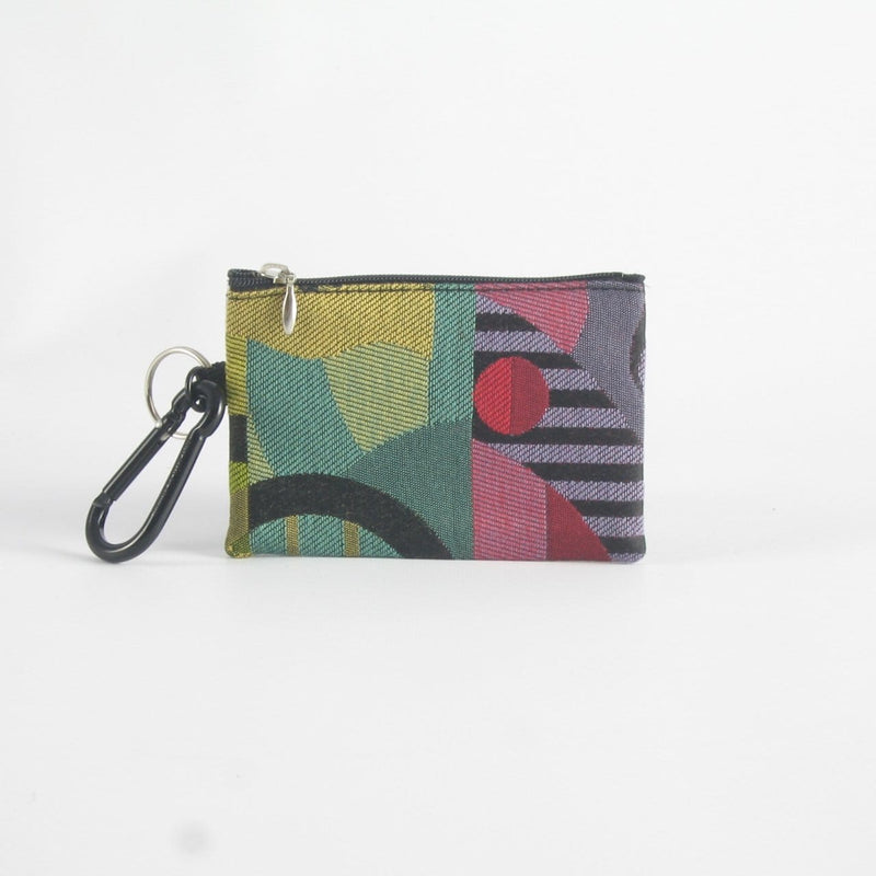 One zipper change purse with ID window T5ID