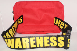 CrossBody/Fanny Pack - Red -