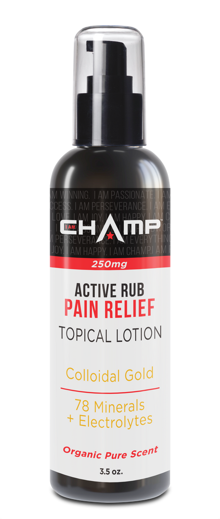 CHAMP ™ 250mg CBD Pain Relief Active Rub