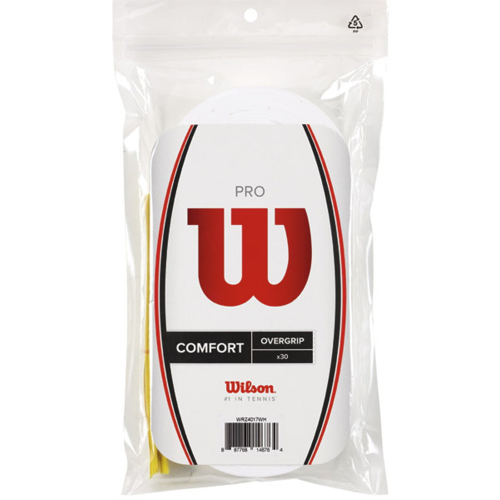 Overgrips Wilson Pro Overgrips Blanco 30 unidades
