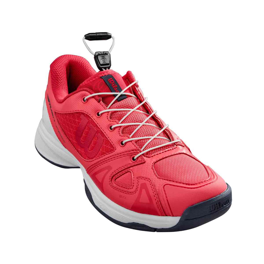 Zapatillas de tenis Wilson Rush Pro Junior QL Pink