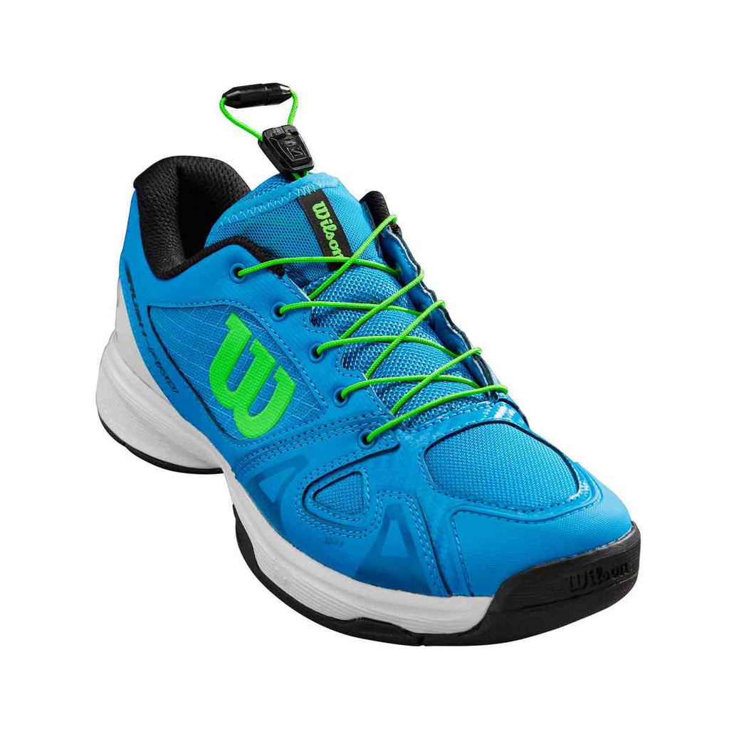 Zapatillas de tenis Wilson Rush Pro Junior QL Blue