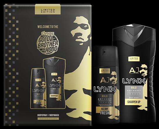 Lynx Gold AJ Limited Edition Collection