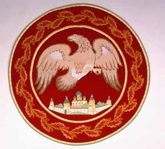 Embroidered Eagle Rug (Various Colors)