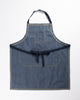 Hand-Eye Kitchen Apron Navy Ticking
