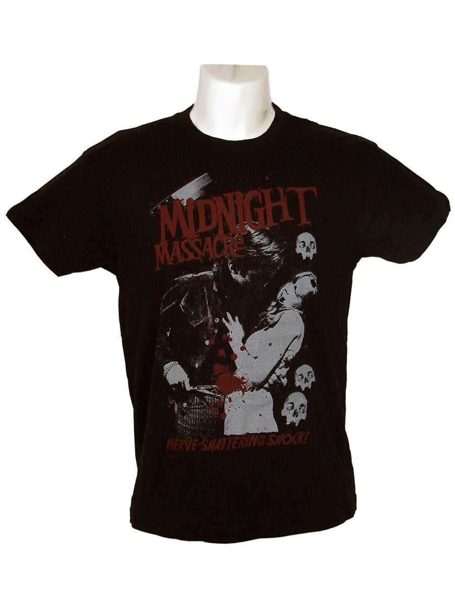 Men's Black T-Shirt Midnight Massacre