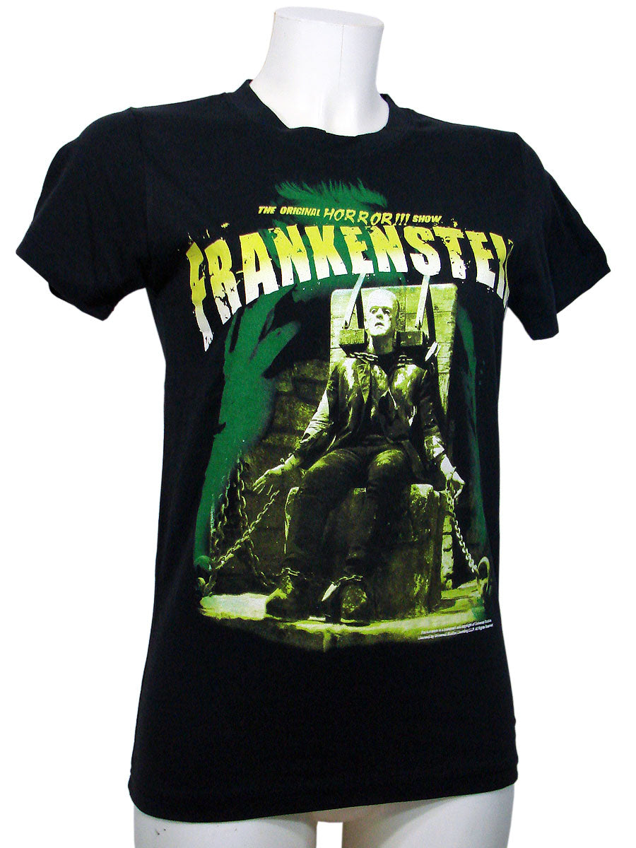 Women's T-shirt Top Frank Electric Chair