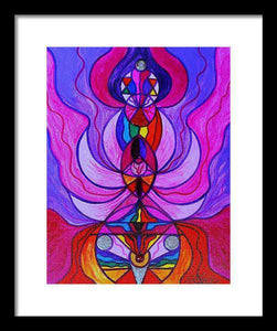 Divine Feminine Activation - Framed Print