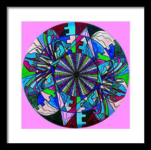 Load image into Gallery viewer, Pleiadian Integration Lightwork Model  - Framed Print