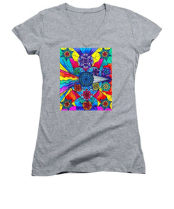 Speak From The Heart - Women's V-Neck