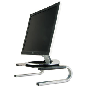 ESASP29248 - Redmond Monitor Stand, 14 5-8 X 11 X 4 1-4, Black-gray-silver