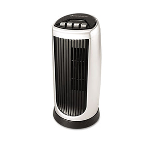 ESBNRBT014AU - Personal Space Mini Tower Fan, Two-Speed, Black-silver