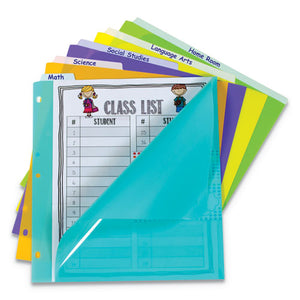 "ESCLI07150 - 5-TAB INDEX DIVIDERS WITH VERTICAL TAB, 5-TAB, 11 1-2"" X 10"""