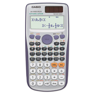 ESCSOFX115ESPLUS - Fx-115esplus Advanced Scientific Calculator, 10-Digit Natural Textbook Display