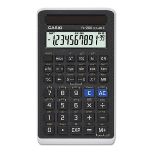 ESCSOFX260SLRII - Fx-260 Solar All-Purpose Scientific Calculator, 12-Digit Lcd