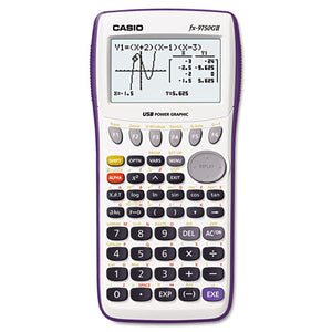 ESCSOFX9750GIIWE - 9750gii Graphing Calculator, 21-Digit Lcd