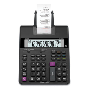ESCSOHR200RC - HR200RC PRINTING CALCULATOR, 12-DIGIT, LCD