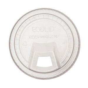ESECOEPFLCS - GREENSTRIPE COLD CUP SIP LID, FITS 9-24 OZ. CUPS, CLEAR, 1000-CARTON
