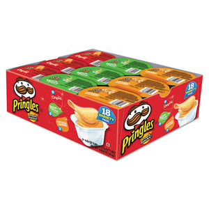 ESKEB18251 - Potato Chips, Variety Pack, 0.74 Oz Canister, 18-box