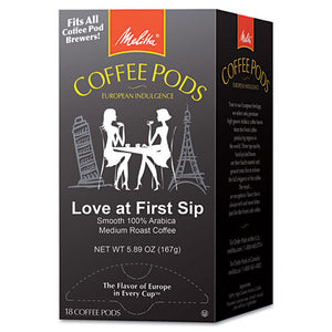 ESMLA75415 - Coffee Pods, Love At First Sip (medium Roast), 18 Pods-box