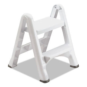 ESRCP4209CT - Ez Step Two-Step Folding Stool, 19 1-2 X 20 3-5 X 22 7-10, White, 3-carton