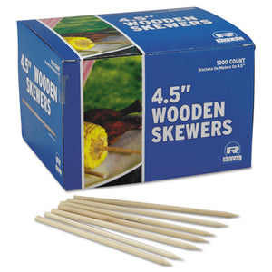 ESRPPR815 - Wooden Skewers, 4 1-2 Inches, 10000-carton