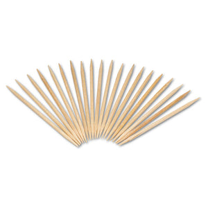 "ESRPPR820 - Round Wood Toothpicks, 2 1-2"", Natural, 800-box"