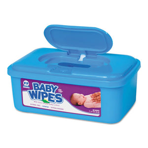 ESRPPRPBWS80 - Baby Wipes Tub, Scented, White, 80-tub, 12 Tubs-carton