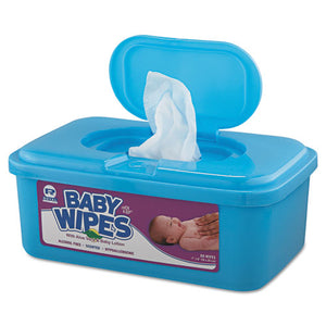 ESRPPRPBWU80 - Baby Wipes Tub, White, 80-tub, 12-carton