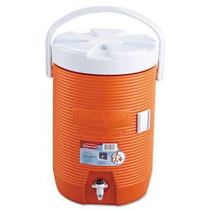 "ESRUB1683ORG - Water Cooler, 12 1-2"" Dia X 16 3-4h, Orange"