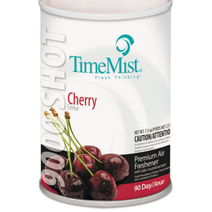 ESTMS1042646 - 9000 SHOT METERED AIR FRESHENERS REFILL, CHERRY, 7.5OZ, AEROSOL, 4-CARTON
