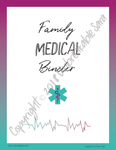 Family Medical Binder | Digital Download | Unbreakable Sara
