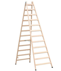 Painters Timber Ladder 8ft & 10ft