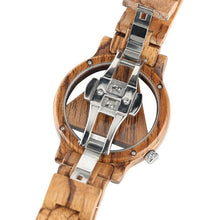 Load image into Gallery viewer, Casual Bamboo Quartz Wrist Watch - Meraki Cole Company