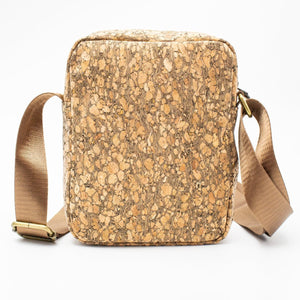 Natural Tree Cork Travel Bag - Meraki Cole Company