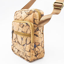 Load image into Gallery viewer, Rustic Cork Travel Bag - Meraki Cole Company