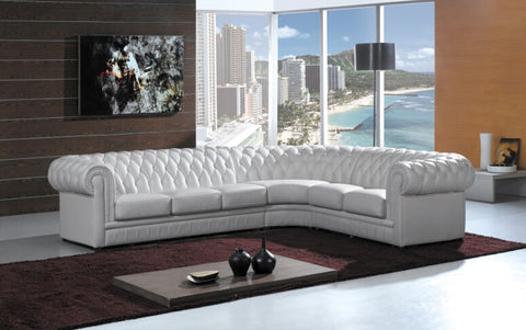 Chesterfield sofa with genuine leather modern sectional sofa for living room sofa furniture