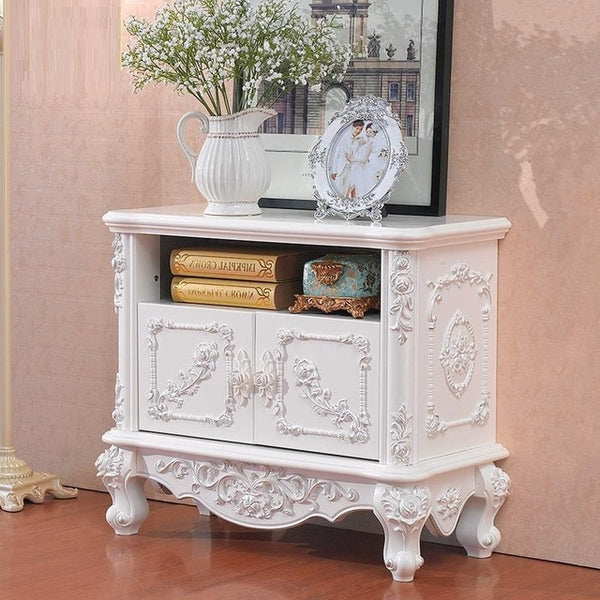 TV Living Room European Wooden Organizer Furniture Cabinet  Chest Of Drawers