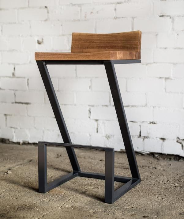 BAR CHAIR WITH BACKREST 015