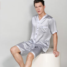 Life Style Basic Silk Pajamas Set for Men