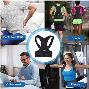 Magnetic Posture Corrector for Lower and Upper Back Pain lifestyle
