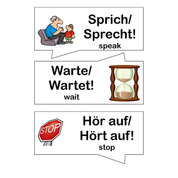 German Classroom Commands