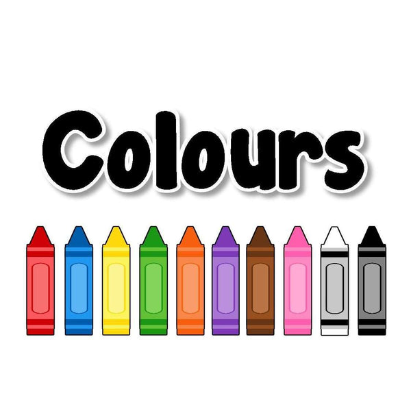 Coloured Crayons Display Pack