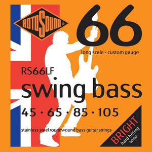 Rotosound Swing Bass Strings 45-65-85-105 Custom Gauge