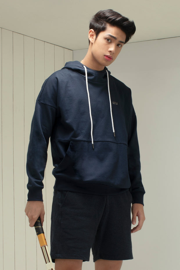 Premium Threads Fleece Hoodie With Embroidery