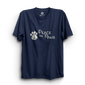 HS- PEACE FOR PAWS (NAVY-WHITE)